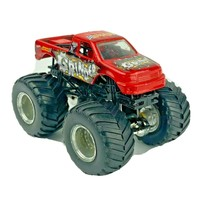 Monster Jam Hot Wheels Die Cast GRINDER Monster Truck Toy Car - $11.99