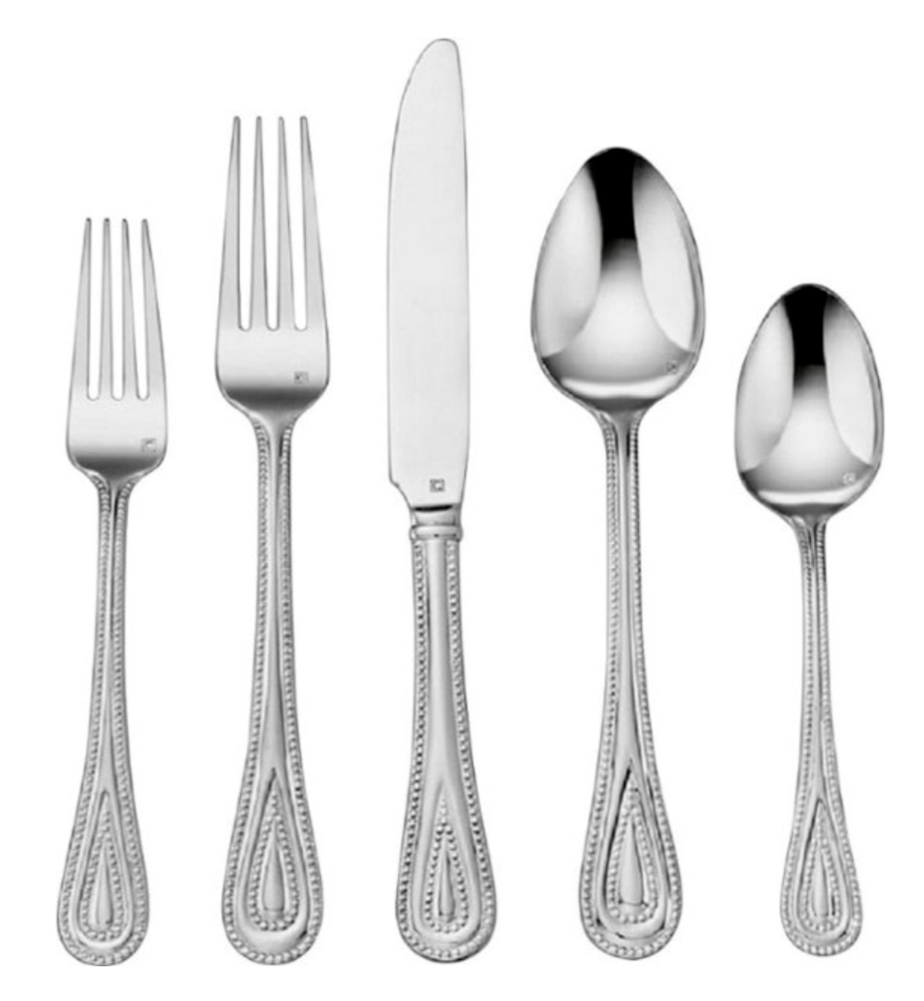 Primary image for Cuisinart  20 PC Elite  Flatware Silverware New