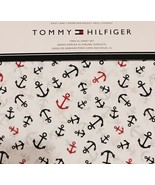 Tommy Hilfiger Navy Red Anchors on White Sheet ... - $60.00