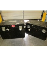 "Lot of 2 Large 45x30x26"" Shipping Road Travel Case with Wheels - $540.00"