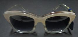 Falls Creek White Clear Sunglasses NWT 100% UV Protection image 7