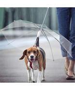 Honana HN-PT1 Waterproof Pet Umbrella Dog Transparent Umbrella Raincoat - $19.99