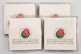 Plein de 4 1983 Pasadena Rose Bol .999 Argent Fin Ronds W/Original Embal... - $118.66