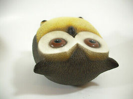 Harvey Knox Kingdom Owl Hand Painted Figurine Figure House Global Art Japan  image 9