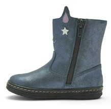 Cat & Jack Toddler Girls' Molly Cat Kitten Blue Fashion Boots size 7 New w Tags image 2