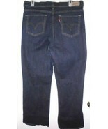 LEVI'S Jeans Sz 33 x 30 Perfectly Slimming 512 Boot Cut High Rise Blue W... - $29.69