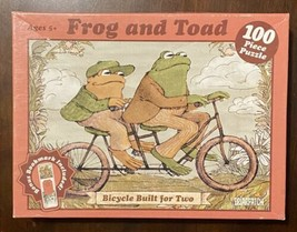 "Briarpatch Frog and Toad ""Bicycle Built for Two"" 100pc Jigsaw Puzzle / O... - $21.29"