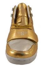 Creative Recreation Womens Gold Silver Cesario Hi Top Gym Shoes Sneakers 6US NIB image 3