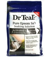 1 Dr. Teal's Pure Epsom Salt Soaking Solution Activated Charcoal Black L... - $19.99