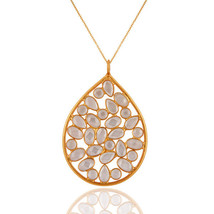 Handmade 925 Sterling Silver Designer Cz Pendant Gemstone Jewelry - $25.34