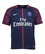Paris Saint-Germain Nike 2017/18 Home Replica Jersey - Navy - $80.00