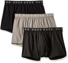 Hugo Boss Men's Natural Pure Cotton 3 Pack Underwear Boxers Trunks 50325383 image 5