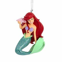 Hallmark Christmas Ornaments, Disney The Little Mermaid Ariel With Seash... - $17.90