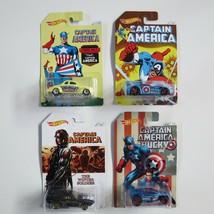 Hot Wheels Lot 4 Captain America Origins 4 pack set odd 1,3,5,7 of 8 Mat... - $15.83