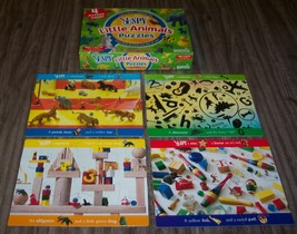 Briarpatch I SPY Little Animals 4 PUZZLES IN BOX Ages 3+ - $14.85