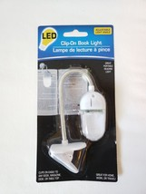 Book Light LED Clip-On Book Lights with Adjustable Light Angle Booklight... - $3.99