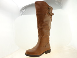 Journee Collection WC Tori Womens Knee-High Boots Chestnut Size 7 - $34.64