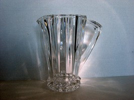 "Clear Lead Crystal Pitcher~ Rosenthal, Germany  ""Blossom"" Pattern - $65.00"