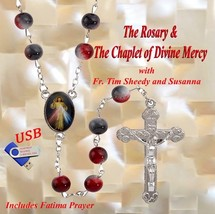 THE ROSARY & THE CHAPLET OF DIVINE MERCY - 1 USB