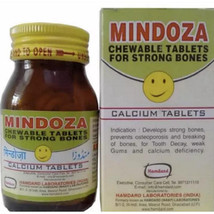Hamdard Mindoza Tablet (50tab), Develops strong bones, prevents osteopor... - $9.99