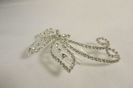 Women Silver Metal Head Fashion Jewelry Butterfly Hair Pin Bridal Wedding Party image 3
