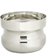 Miranda Watkins Gleam Pewter Collection Groove Bowl Silver Small - $50.41