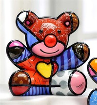 Romero Britto Happy Bear Design Figurine Rare Collectible Numbered XXXX/4000