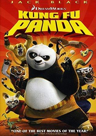 Kung Fu Panda DVD, Full Screen