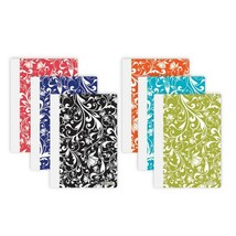 """5"""" X 7"""" Floral Poly Cover Personal Composition Book, 1-ct. - $2.50"""