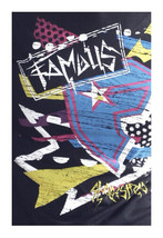 Famous Stars & Straps Noir Taka Punk Travis Barker T-Shirt Taille : Petit image 1