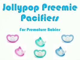 JollyPop Pacifier Preemie Pick Color &/or Scent Baby Soothie Gumdrop Dummy - $5.50+