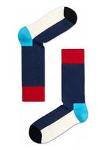 Happy Socks Unisex Combed Cotton Crew Five Color in Navy - $10.80