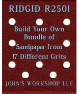 Build Your Own Bundle RIDGID R2501 1/4 Sheet No-Slip Sandpaper 17 Grits - $0.99