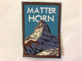 Patch Souvenir Matter Horn Switzerland Alps Cervino Cervin Matterhorn - $4.95