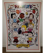 14 by 20 Proof Card Poster PEANUTS A CELEBRATION Charles Schultz 1747/2500 - $24.45