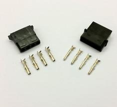 Stecker & Buchse 4-polig Molex PC Netzteil,Netz- Verbinder - 5 jeder - s... - $7.76