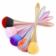 Nail Brush Manicure Cleaning Remove Dust Powder Nail Art Aluminum Handle Removal - $5.53+