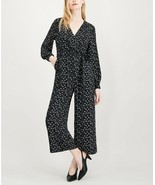 Maison Jules Women's Printed Wide-Leg Jumpsuit Dandelion Spark  Size 10 - $88.61