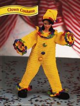 "4X Barbie 11-1/2"" Doll Prairie Yesteryear Clown Jungle Costume Crochet Pattern image 3"