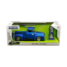 1956 Ford F-100 Pickup Truck Blue Nitrous Express (NX) with Extra Wheels... - $36.91
