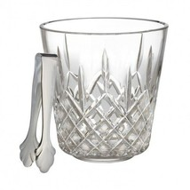 Waterford Lismore Ice Bucket with Tongs New with tag #483180060 - $311.36