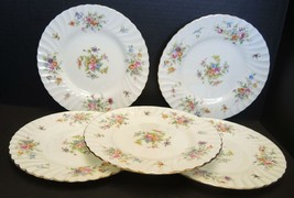 Five Minton Luncheon Plates - Marlow Pattern - $37.99
