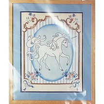 French Country Unicorn Counted Cross Stitch Kit 12 x 16 Something Special c2615 - $16.99