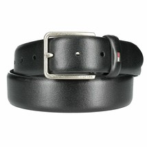 Tommy Hilfiger Men's Leather 35MM Belt 11TL01X049 Black New /w Defect Size 44
