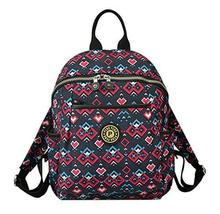 Gentle Meow Women Zipper Backpack Water Resistant Under 13-Inch Laptop,B... - $42.63