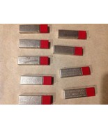 9 Vtg. RED TOP EVERSHARP Leads HB MED SOFT WAHL CO. Metal Container Chic... - $74.25