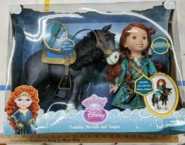DisneyPrincess Brave Merida & horse Angus Doll Set Toy New Original Unopened Box - $108.74