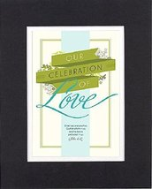 GoodOldSaying  Poem for Inspirations - Our Celebration of Love. . 8x10 Biblical  - $11.14