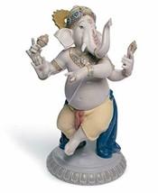 Lladro Dancing Ganesha Porcelain Sculpture - $1,198.99