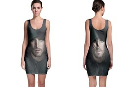 Green Arrow Close Up Green Image BODYCON DRESS - $21.99+